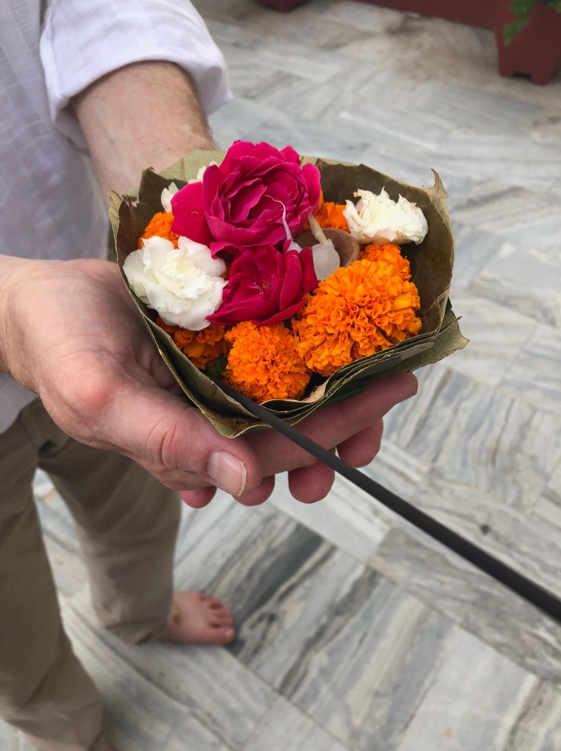 The Aarati offering